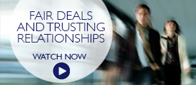 Briefing: fair deals and trusting relationships
