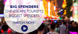 Chinese are tourism's biggest spenders