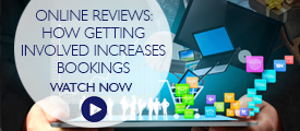 Briefing: Online Reviews – How getting involved increases bookings