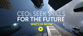 Briefing: CEOs seek skills for the future