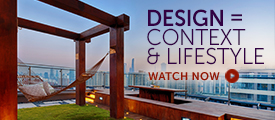 Briefing: Design = Context and Lifestyle