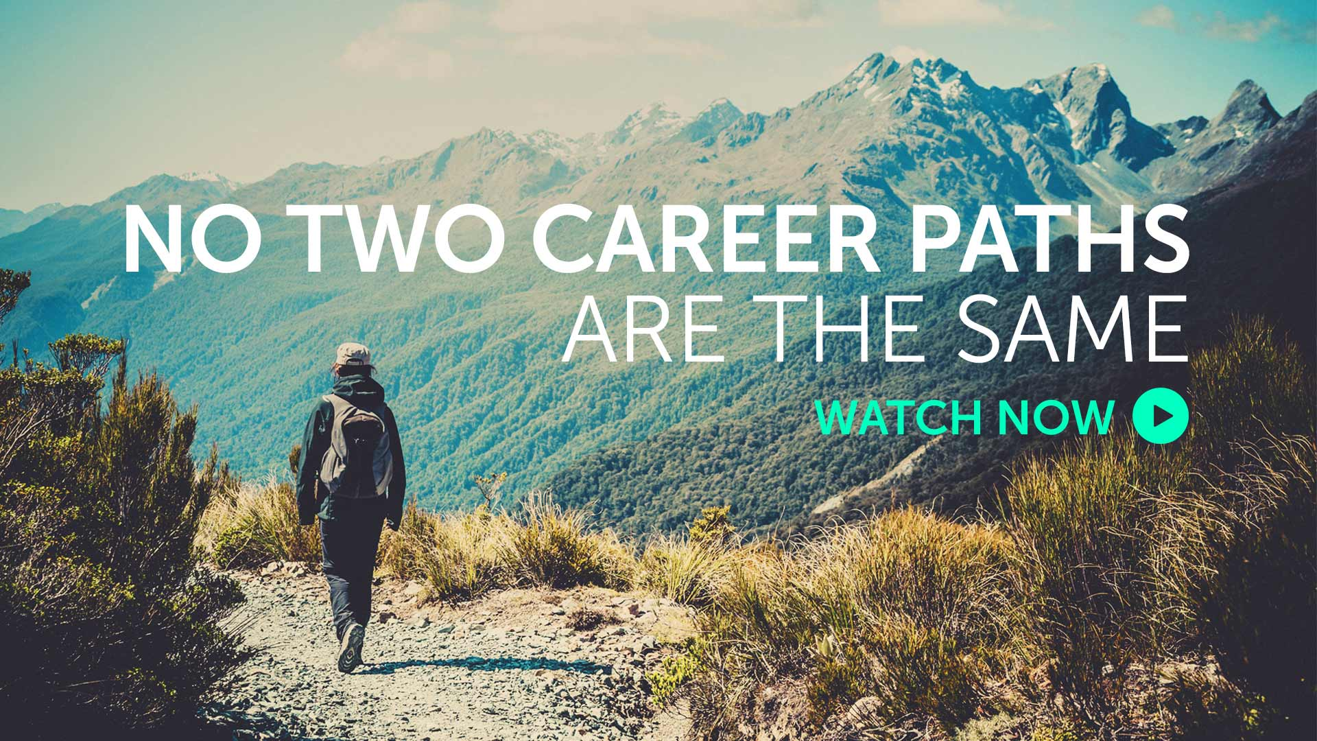 Briefing: No two career paths are the same